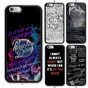 Panic-at-The-Disco-Lyric-Music-Case-Cover-For-Samsung-Galaxy-Apple-iPhone-iPod