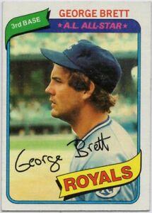 1980-Topps-450-George-Brett-Near-Mint-Kansas-City-Royals-FREE-SHIPPING