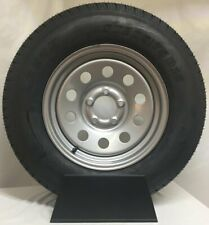*2* Kenda Karrier ST215//75R14 LRC Radial Trailer Tire /& Wheel Silver Mod 5-4.5