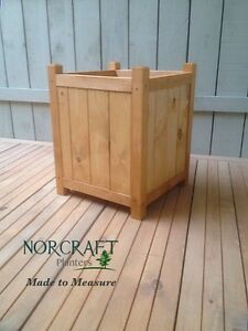 Large Square Box Wooden Planter Perfect For Potted Trees Hand