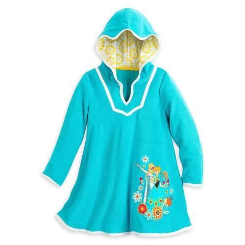 Disney Store Frozen Elsa Anna Girl Swimsuit Cover Up Size 5//6 7//8