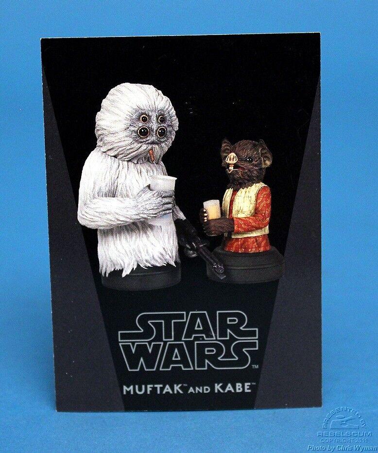 GENTLE GIANT – STAR WARS – Muftak and Kabe – Mini Bust Star Wars