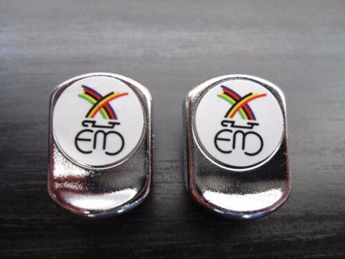 Vintage style Eddy Merckx Toe strap buttons