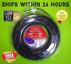 Trimmer Line .080 Sm Donut Black Vortex Line Rotary Item 12160