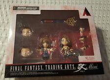 Final Fantasy 10/10-2 Yuna Collectible Trading Arts mini Figurine Set