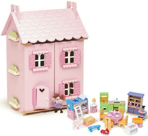 Marvelous Image Is Loading LE TOY VAN WOODEN DOLLS HOUSE WITH FURNITURE