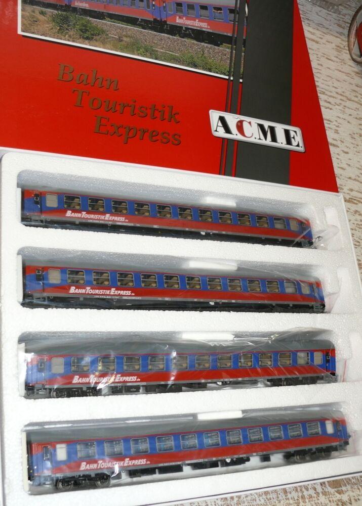 HS ACME ac55158 Wagenset ferroviario Touristik Express EP. V-VI 4 pezzi