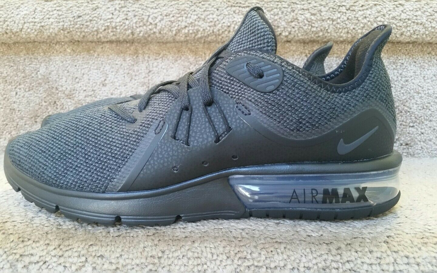Nike Air Max Sequent 3 Black Men's Size 9