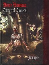 Vampire the Requiem Night Horrors Immortal Sinners Hardcover MINT White Wolf Pub