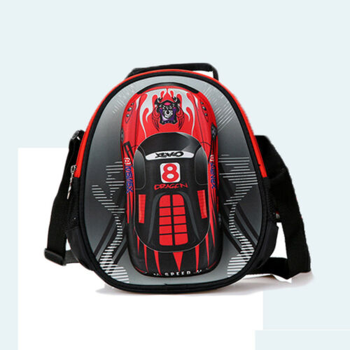 Kids Boys Trolley School Bag Children Wheels Rolling Waterproof Luggage Backpack