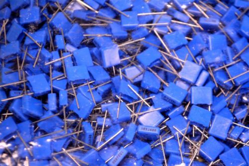 100 x Metallized Polyester Dielectric Film Capacitor .01uF µF mF mFD 400VDC 5/% A