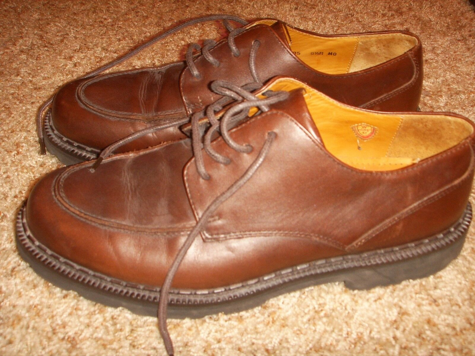 Cole Haan Country shoes Brown Leather Oxford 07305 Mens Size 9.5M