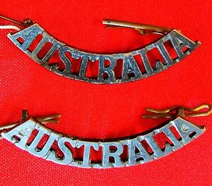 WW1-WW2-KOREAN-WAR-AUSTRALIAN-ARMY-AUSTRALIA-SHOULDER-BADGES-ANZAC