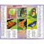 Calendrier-2021-La-Poste-Almanachs-PTT-35-References-Divers-Animaux-Paysages miniature 60