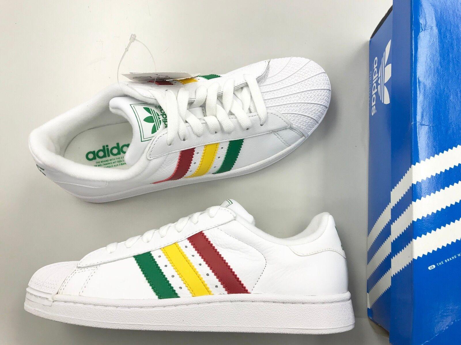 Brand new adidas superstar ii campo verde bianco sole uomini scarpe tutta pelle | bello  | Sig/Sig Ra Scarpa