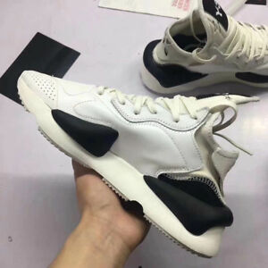 85930055c62b NEW Y3 Kaiwa Yohji Yamamoto Sneakers Men s White Qasa High Boost ...