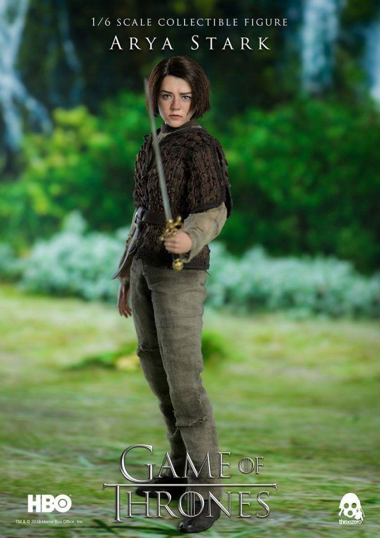 Game of Thrones – Arya Stark – – – ThreeZero 1 6 Scale   (BRAND NEW) c68302