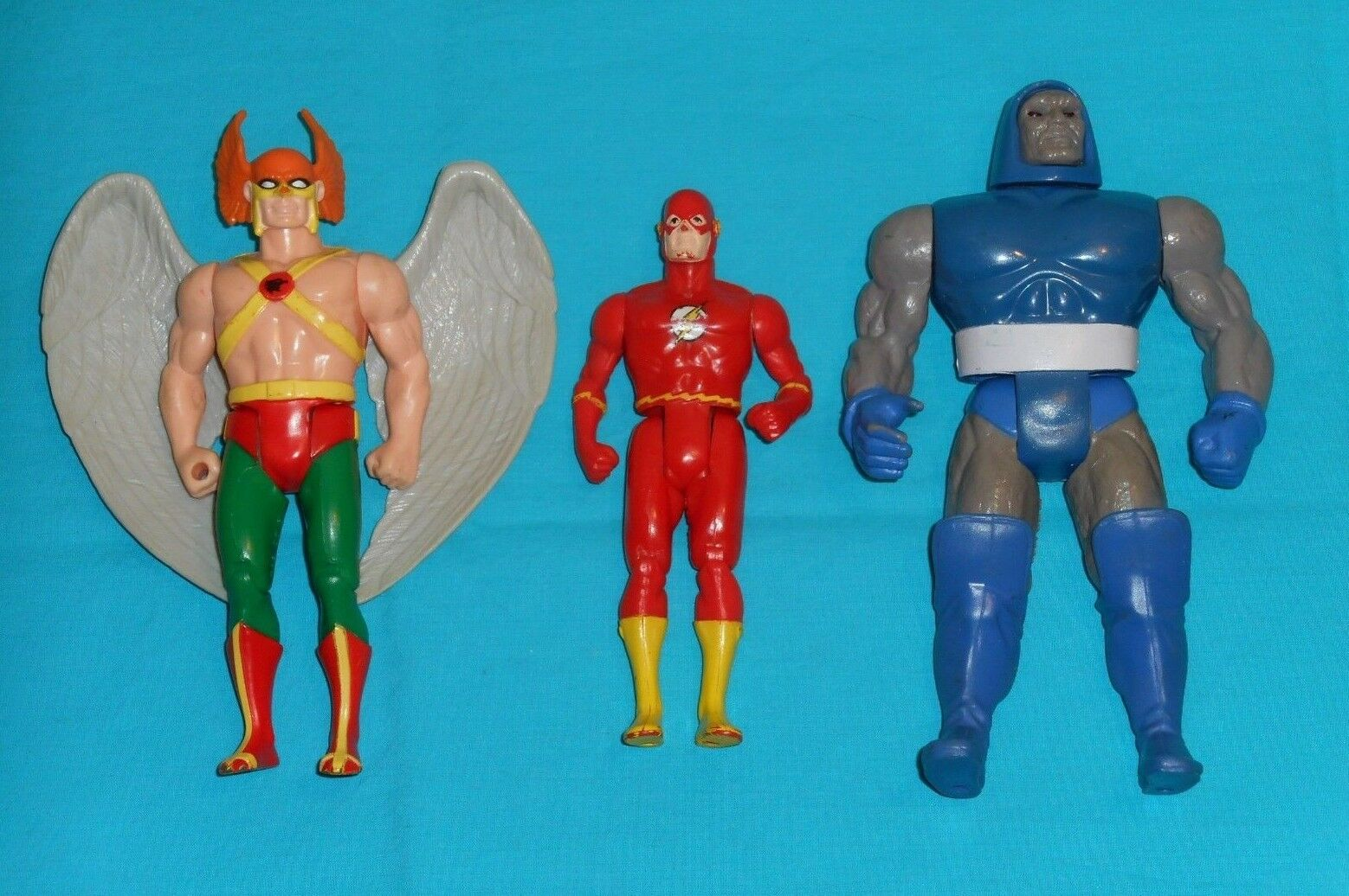 Vintage Kenner SUPER POWERS LOT Darkseid HAWKMAN The Flash