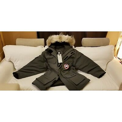 2018 LATEST CONCEPT EDITION GREY LABEL GRAPHITE CANADA GOOSE EXPEDITION XL PARKA
