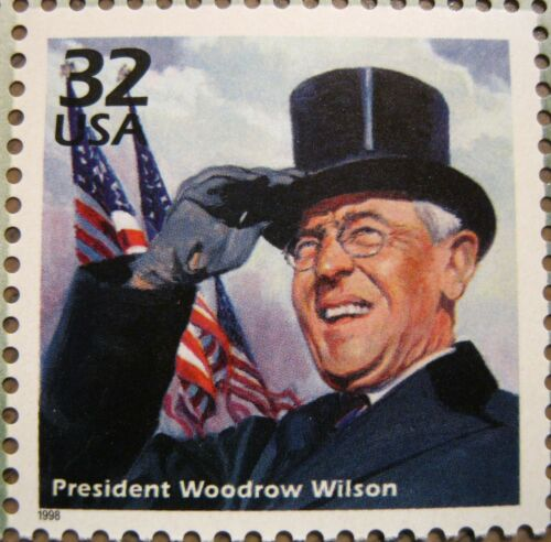 Woodrow Wilson Low Production Mint MNH US Postage Stamp Scott 3183k