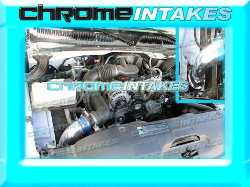 99 00 01 02-07 CHEVY//GMC//CADILLAC TRUCK//SUV 4.8L 5.3L 6.0L 8.1L AIR INTAKE BLUE