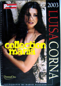 Calendario Panorama.Details About Calendar Sexy Luisa Corna Nude Calendario Panorama 2003