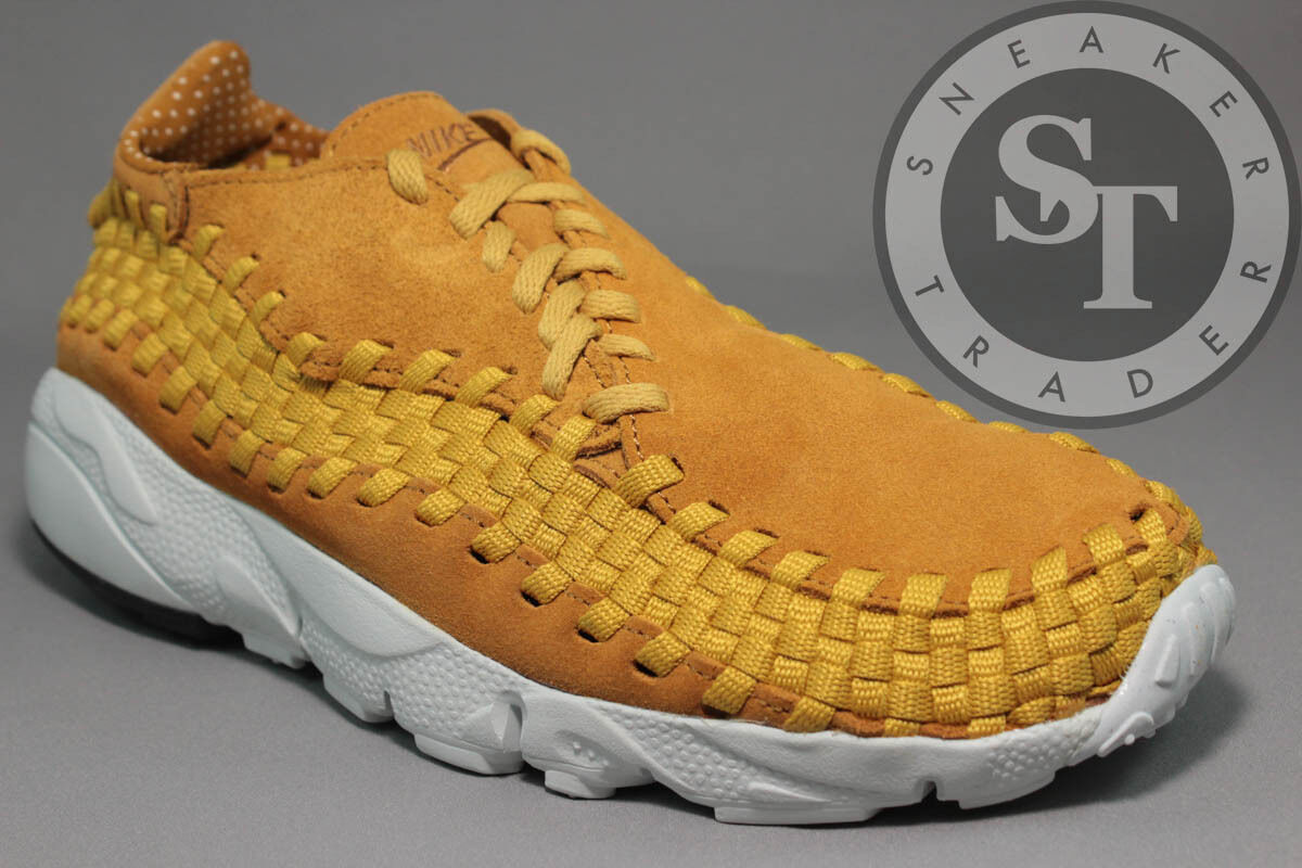 NIKE AIR FOOTSCAPE WOVEN NM 875797-700 GOLD DART DESERT OCHRE DS SIZE: 10