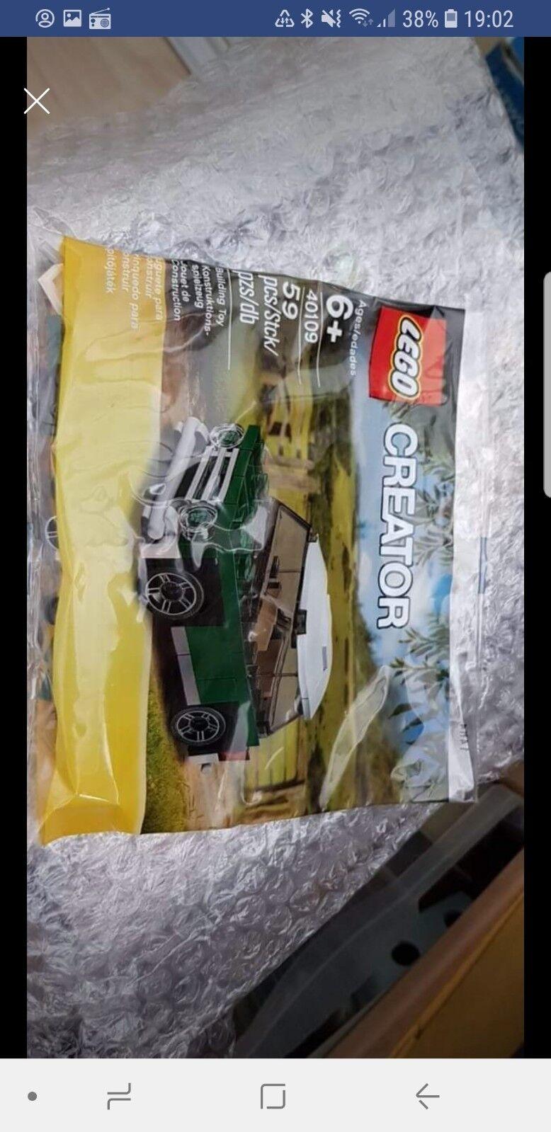 Lego Poly Bag Mini Cooper