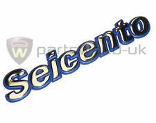 Fiat Seicento Badge 46512205 New Genuine