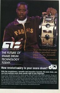 2006 small Print Ad of DW Drum Workshop Acoustic EQ Snare ...