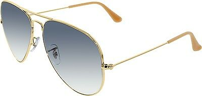 Ray-Ban Women's Aviator RB3025-001/3F-62 Gold Aviator Sunglasses