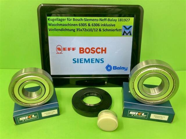 Lagersatz wie Siemens 607420 Bosch 00607420