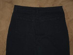 Gloria Vanderbilt Size 12 Amanda Tapered Leg Dark Blue Stretch Denim Womens Jean