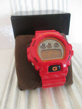 G-SHOCK RED WATCH 3230 DW-6900CB BOXED READ DETAILS PLEASE