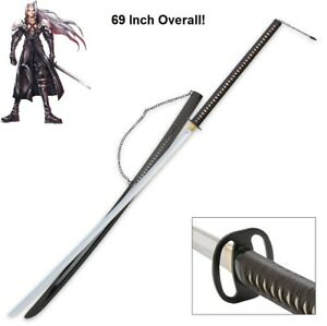 Details About 69 Sephiroth Full Sized Replica Masamune Katana Final Fantasy 7 Ff Vii Sharp