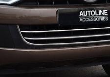 VW VOLKSWAGEN AMAROK CHROME LOWER BUMPER GRILLE ACCENT COVER TRIM SET  3  PC SET