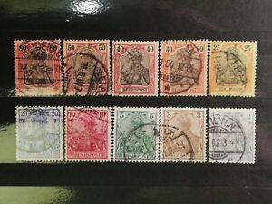 German-Stamps-Germany-1900