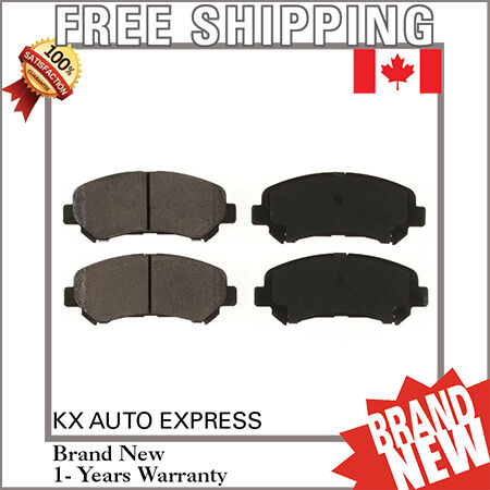 FRONT CERAMIC BRAKE PADS FOR MAXIMA 2009 2010 2011 2012 2013 2014 D1338