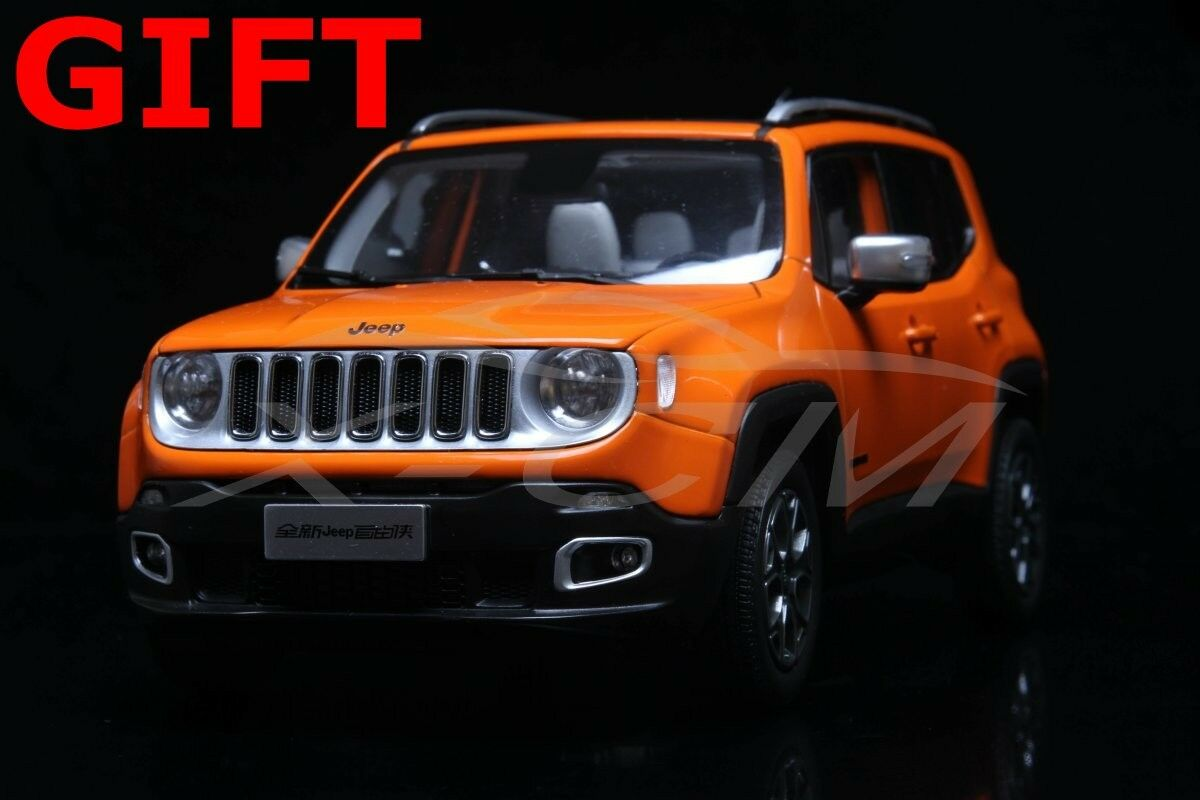 Car Model All New Jeep Renegade Limited 1 18 (arancia) + SMALL GIFT