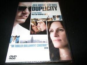 "DVD NEUF ""DUPLICITY"" Julia ROBERTS, Clive OWEN"
