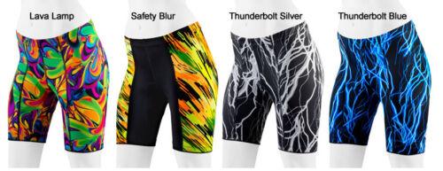 Aero Tech Designs Printed Womens Biking Padded Cycling Bike Shorts Made in USA