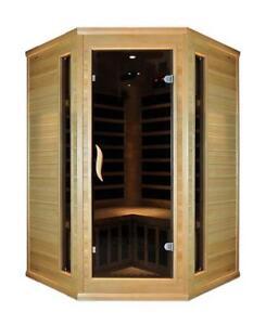 0 EMF Blackstone Far infrared corner two person saunas on sale $2999, Canada Preview