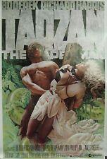 Tarzan the Ape Man Original Single Sided Movie Poster Bo Derek Richard Harris