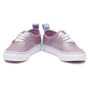 f664ca8414 Image is loading Vans-AUTHENTIC-ELASTIC-Glitter-Metallic-Lilac-Toddler-Girl-