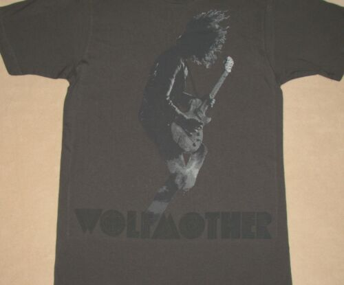 Wolfmother Guitar Solo Silhouette Gray Shirt NEW S M L XL