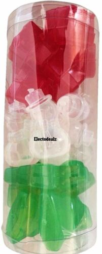 Pack of 18 Christmas Novelty Reusable Festive Ice Cubes Xmas Shapes Party Xmas