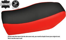 BLACK & BRIGHT RED AUTOMOTIVE VINYL CUSTOM FITS BMW R 80 G/S GS SEAT COVER ONLY