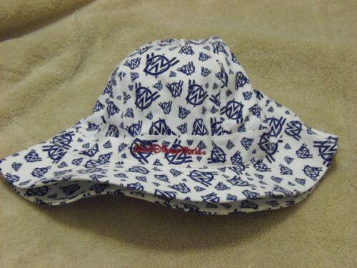 NWT Walt Disney World Bucket Hat WDW Blue White Fisherman