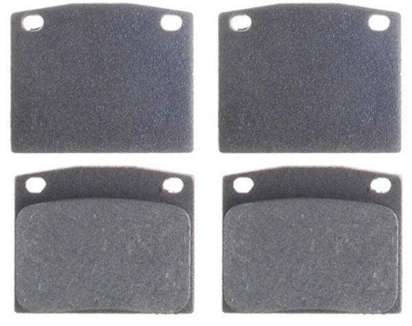 Carkeeper Disc Brake Pad Set EP1117M Fits 1975-1979 Honda Civic