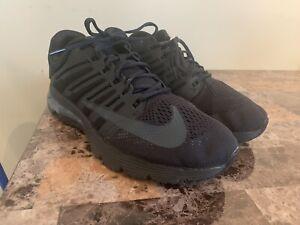 Nike-Air-Max-270-React-Triple-Black-Mens-Sz-13-Running-Shoes-AO4971-003-NEW